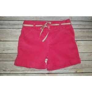 Gymboree Star of the Show Pink Corduroy Shorts